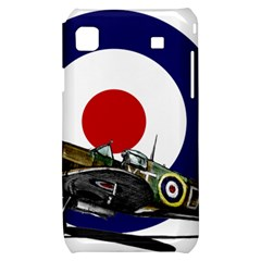 Spitfire And Roundel Samsung Galaxy S i9000 Hardshell Case  by TheManCave
