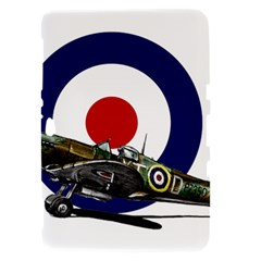 Spitfire And Roundel Samsung Galaxy Tab 8.9  P7300 Hardshell Case  by TheManCave