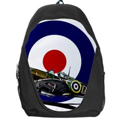 Spitfire And Roundel Backpack Bag by TheManCave