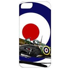 Spitfire And Roundel Apple iPhone 5 Classic Hardshell Case by TheManCave