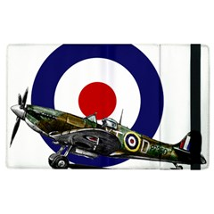 Spitfire And Roundel Apple iPad 2 Flip Case by TheManCave