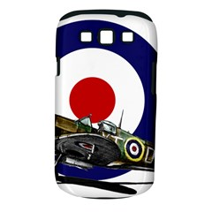 Spitfire And Roundel Samsung Galaxy S Iii Classic Hardshell Case (pc+silicone) by TheManCave