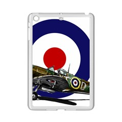 Spitfire And Roundel Apple iPad Mini 2 Case (White) by TheManCave