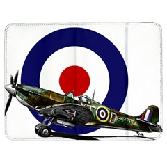 Spitfire And Roundel Samsung Galaxy Tab 7  P1000 Flip Case by TheManCave