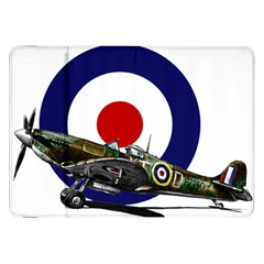 Spitfire And Roundel Samsung Galaxy Tab 8 9  P7300 Flip Case by TheManCave