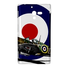 Spitfire And Roundel Sony Xperia ZL (L35H) Hardshell Case  by TheManCave