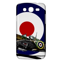 Spitfire And Roundel Samsung Galaxy Mega 5 8 I9152 Hardshell Case  by TheManCave