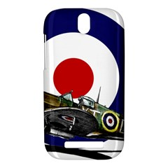 Spitfire And Roundel HTC One SV Hardshell Case by TheManCave