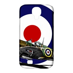 Spitfire And Roundel Samsung Galaxy S4 Classic Hardshell Case (PC+Silicone) by TheManCave