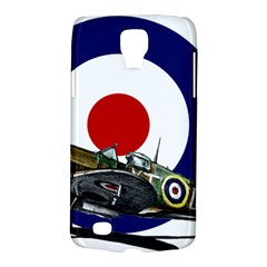 Spitfire And Roundel Samsung Galaxy S4 Active (i9295) Hardshell Case by TheManCave