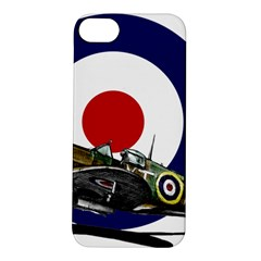 Spitfire And Roundel Apple Iphone 5s Hardshell Case by TheManCave