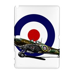 Spitfire And Roundel Samsung Galaxy Note 10 1 (p600) Hardshell Case by TheManCave