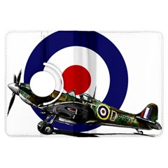 Spitfire And Roundel Kindle Fire HDX Flip 360 Case by TheManCave