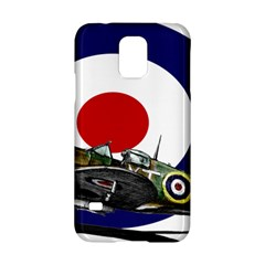 Spitfire And Roundel Samsung Galaxy S5 Hardshell Case  by TheManCave