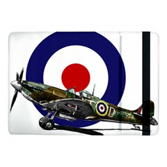 Spitfire And Roundel Samsung Galaxy Tab Pro 10 1  Flip Case by TheManCave