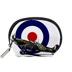 Spitfire And Roundel Accessory Pouch (Small) by TheManCave