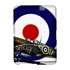 Spitfire And Roundel Kindle Fire HD Hardshell Case by TheManCave