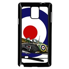 Spitfire And Roundel Samsung Galaxy Note 4 Case (Black) by TheManCave