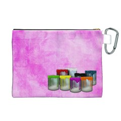 Artist Canvas Xl By Lisa Minor   Canvas Cosmetic Bag (xl)   5b80gzn1vwtc   Www Artscow Com Back