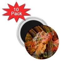 Autumn 1 75  Button Magnet (10 Pack) by icarusismartdesigns