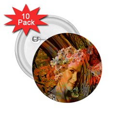 Autumn 2.25  Button (10 pack) by icarusismartdesigns