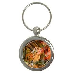 Autumn Key Chain (round) by icarusismartdesigns