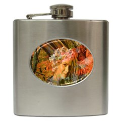 Autumn Hip Flask by icarusismartdesigns