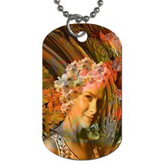 Autumn Dog Tag (two Sided)  by icarusismartdesigns