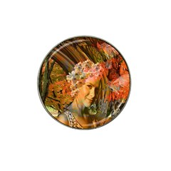Autumn Golf Ball Marker 4 Pack (for Hat Clip) by icarusismartdesigns