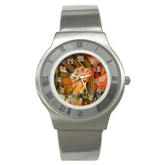 Autumn Stainless Steel Watch (slim) by icarusismartdesigns