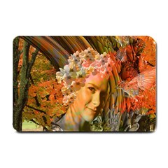 Autumn Small Door Mat by icarusismartdesigns