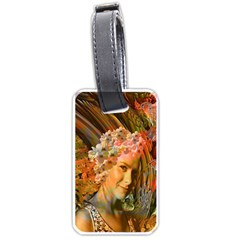Autumn Luggage Tag (one Side) by icarusismartdesigns
