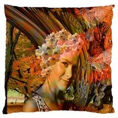 Autumn Large Cushion Case (two Sided)  by icarusismartdesigns