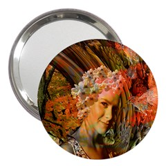 Autumn 3  Handbag Mirror by icarusismartdesigns