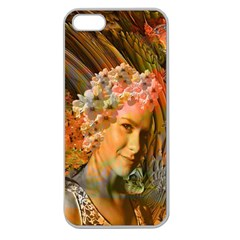 Autumn Apple Seamless Iphone 5 Case (clear) by icarusismartdesigns