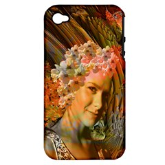 Autumn Apple Iphone 4/4s Hardshell Case (pc+silicone) by icarusismartdesigns