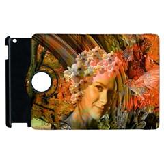 Autumn Apple Ipad 3/4 Flip 360 Case by icarusismartdesigns