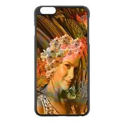 Autumn Apple Iphone 6 Plus Black Enamel Case