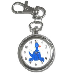 Flowers Key Chain Watch by sdunleveyartwork