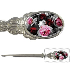Black And White Roses Letter Opener by bloomingvinedesign
