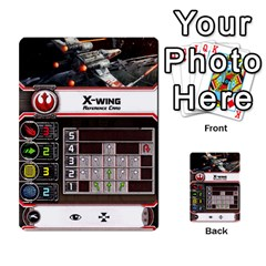X Wing Maneuvers Waves 1 6 By Matt   Multi Purpose Cards (rectangle)   Cb6m4x3wdi5e   Www Artscow Com Front 14