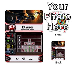 X Wing Maneuvers Waves 1 6 By Matt   Multi Purpose Cards (rectangle)   Cb6m4x3wdi5e   Www Artscow Com Front 36