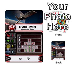 X Wing Maneuvers Waves 1 6 By Matt   Multi Purpose Cards (rectangle)   Cb6m4x3wdi5e   Www Artscow Com Front 38