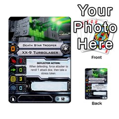 X Wing Maneuver Cards Wave 4 6 By Matt   Multi Purpose Cards (rectangle)   Ejgchyss53zm   Www Artscow Com Front 54