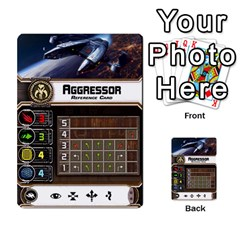 X Wing Maneuver Cards Wave 4 6 By Matt   Multi Purpose Cards (rectangle)   Ejgchyss53zm   Www Artscow Com Front 26