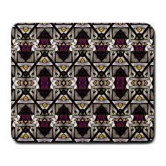 Abstract Geometric Modern Seamless Pattern Large Mouse Pad (rectangle) by dflcprints
