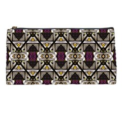 Abstract Geometric Modern Seamless Pattern Pencil Case by dflcprints