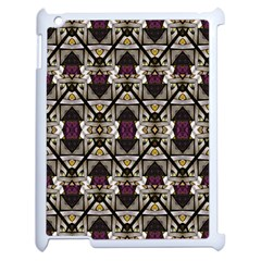 Abstract Geometric Modern Seamless Pattern Apple Ipad 2 Case (white) by dflcprints