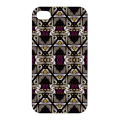 Abstract Geometric Modern Seamless Pattern Apple Iphone 4/4s Hardshell Case by dflcprints