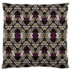 Abstract Geometric Modern Seamless Pattern Large Cushion Case (single Sided)  by dflcprints